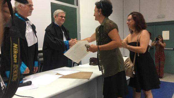 Muore prima di tesi,laurea in UniSalento