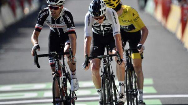 Tour de France: Dumoulin, dernier espoir d'ouvrir le verrou Sky