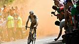 Romain Bardet, le 19 juillet 2018, sur le Tour de France