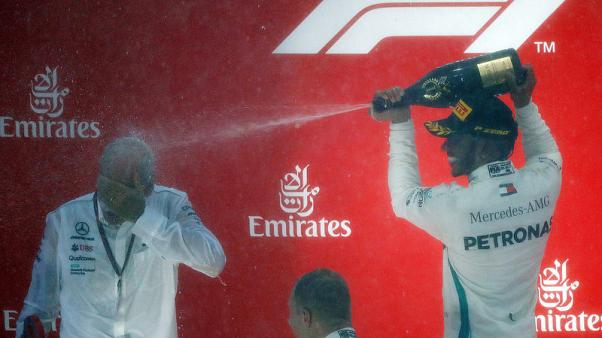 Hamilton's German win owes something to 'four-poster bed'