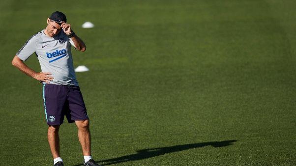 Valverde deluso, Barca non lo accontenta