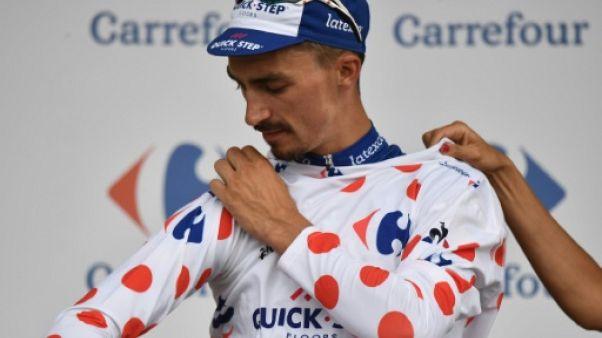 Julian Alaphilippe, le 20 juillet, lors du Tour de France