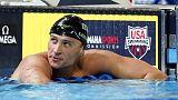 """السباح الأمريكي لوكتي """"لن يستسلم"""" بعد إيقافه 14 شهرا"""