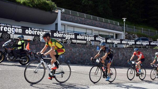 Giro Dolomiti, che emozioni a Obereggen
