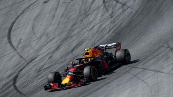 La Red Bull de Max Verstappen, le 1er juillet 2018, en Autriche
