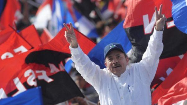 Le président du Nicaragua Daniel Ortega le 19 juillet 2018 à Managua