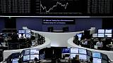 World stocks hit one-month high on U.S. earnings, China support