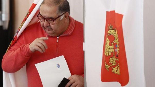 Russian billionaire Usmanov explores sale of 30 percent Arsenal stake - FT