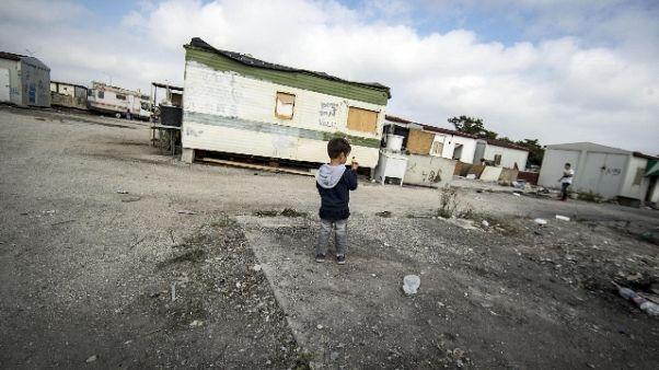 Sospeso sgombero campo nomadi Roma