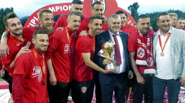 Pari mortel pour Skenderbeu, plus grand club de foot albanais