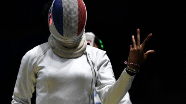 Escrime: les équipes françaises en quarts en épée dames et sabre messieurs