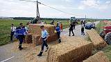 Tour de France interrupted by farmers' protest
