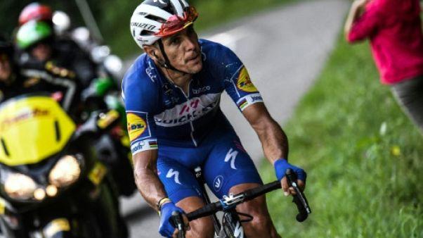 Tour de France: Gilbert chute dans un ravin et repart