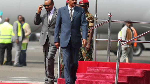 UAE hails Ethiopia, Eritrea leaders after rapprochement