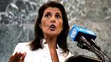 """سفيرة ترامب بالأمم المتحدة: """"أشعر كل يوم وكأنني أرتدي درع الحرب"""""""
