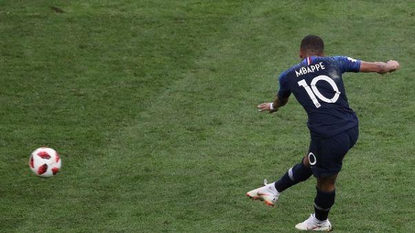 Miglior giocatore,Mbappé sfida Messi-CR7