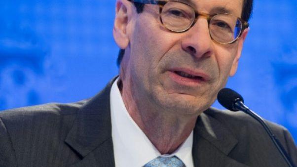 Maurice Obstfeld, chef économiste au FMI, à Washington DC le 17 avril 2018