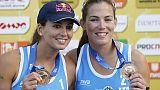 Beach volley:torna coppia Menegatti-Orsi
