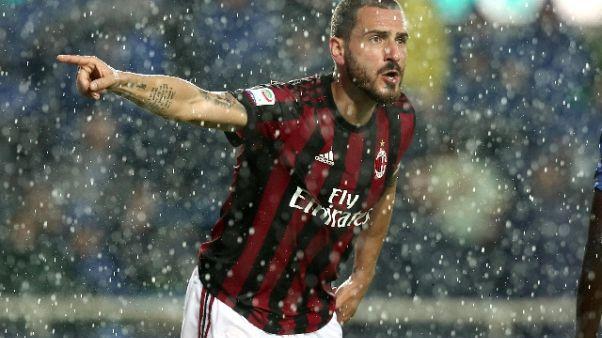 Milan: Leonardo tratta Bonucci con Juve