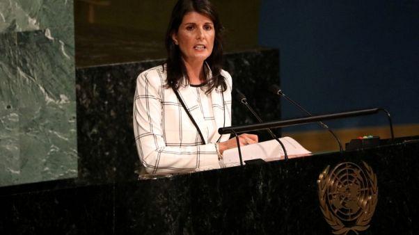 هيلي تنتقد الدول العربية والإسلامية بسبب المساعدات للفلسطينيين