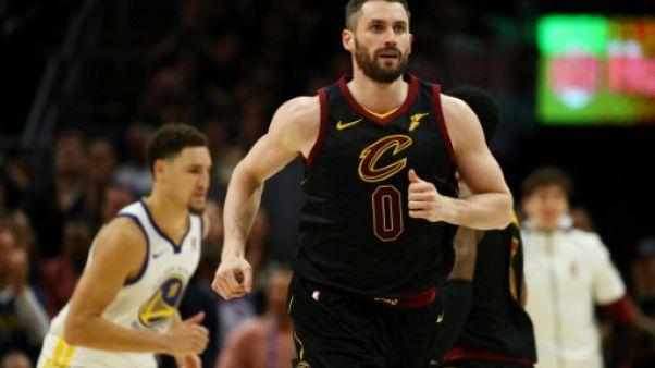 NBA: Kevin Love prolonge avec les Cavaliers