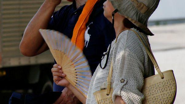 ارتفاع عدد وفيات الموجة الحارة في اليابان إلى 80