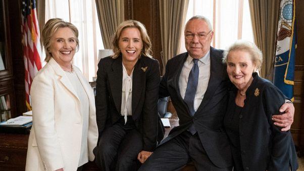 وزراء خارجية أمريكيون سابقون يظهرون بمسلسل (مدام سكريتري)