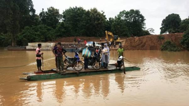 Effondrement d'un barrage au Laos : 26 morts, 131 disparus