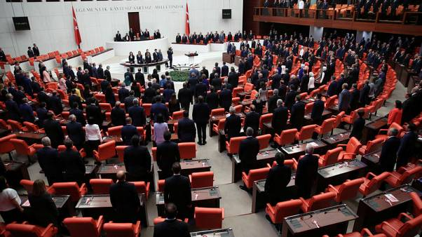 Image result for Turkish parliament to vote on security law to replace emergency rule