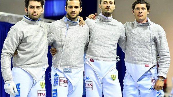 Mondiali Scherma,5/a medaglia per Italia