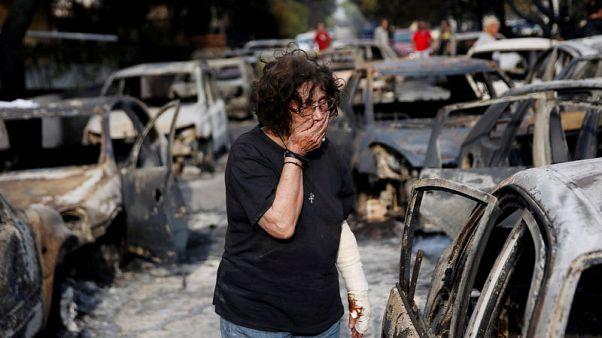 إدارة الإطفاء اليونانية: ارتفاع عدد قتلى حرائق الغابات إلى 79
