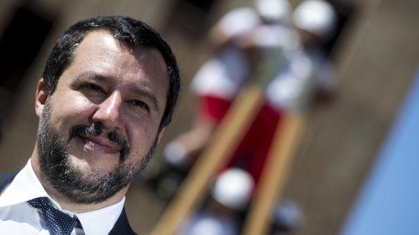 Salvini, se più sicurezza a fianco Raggi