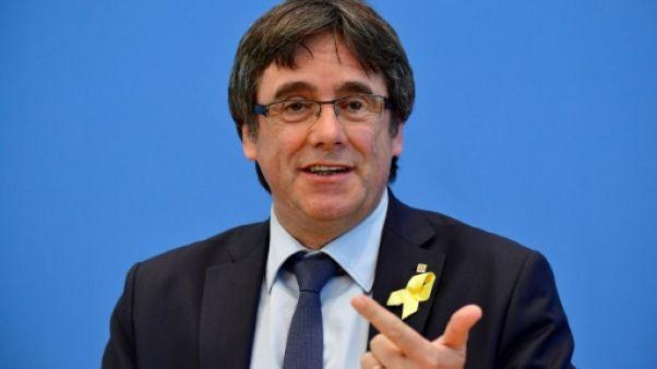 """L'ex-président catalan Puigdemont retournera en Belgique """"ce week-end"""""""