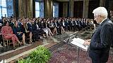 Mattarella firma dl terremoto
