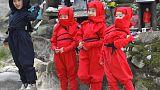 Aspiring ninjas besiege Japanese city with job inquiries