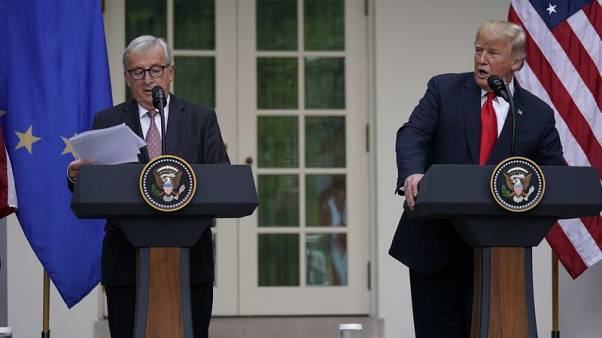 Trump eases car tariff threat as U.S., EU launch talks to quell trade tensions