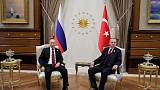 Turkey's Erdogan says will discuss Idlib, Deraa with Russia's Putin