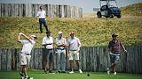 """Ryder Cup: les Américains en reconnaissance d'un Albatros technique et """"intimidant"""""""