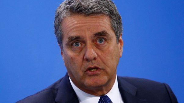 تلفزيون: مدير منظمة التجارة قلق من تضرر النمو العالمي جراء تصاعد التوترات التجارية