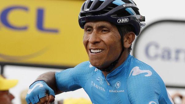 Tour: Quintana vince la 17/a tappa