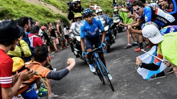 Tour de France: Quintana gagne la 17e étape, Froome coince