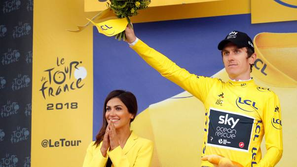 Thomas close to Tour title as Froome cracks in stage finale
