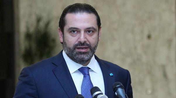 الحريري يقول إنه متفائل بتشكيل الحكومة اللبنانية