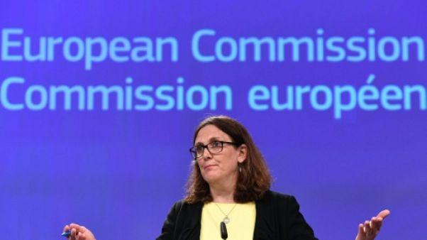 L'UE menace de taxer 20 milliards de dollars de produits américains en représailles