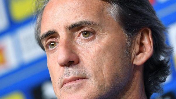 Mancini, Nazionale scelta amore e cuore
