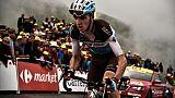 Tour de France: coup d'arrêt pour Bardet
