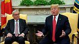 ترامب يقول إنه يأمل بعقد اتفاقية للتجارة مع أوروبا