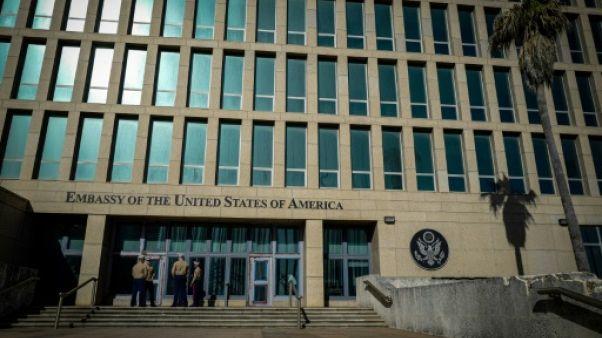 L'ambassade des Etats-Unis à La Havane, le 21 février 2018