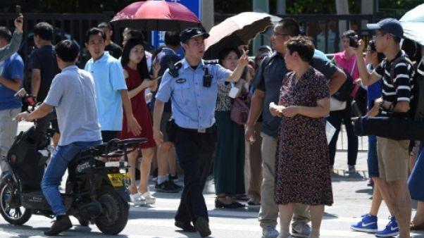 Chine: explosion à l'extérieur de l'ambassade des Etats-Unis à Pékin