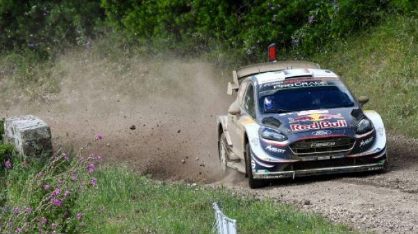 Rallye de Finlande: Ogier toujours à la poursuite de Neuville